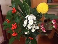 プレお正月準備と窓辺の花たち。 - はまあやのくらし