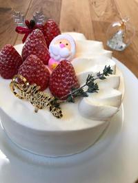 我が家のクリスマスケーキです - おやつ教室 trois-トロワ-