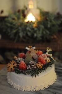 Christmas cake - Chamomile