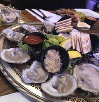 生牡蠣と川海老にて外食納め - 幾星霜