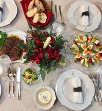 自宅でクリスマスパーティー - ★ Eau Claire ★ Dolce Vita ★