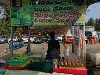 SUPER FRESH LIME SODAを飲んでみた - kimcafeのB級グルメ旅