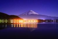 30年12月の富士(16)河口湖大橋と富士 - 富士への散歩道 ~撮影記~