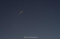オレンジの飛行機雲 - ekkoの --- four seasons --- 北海道