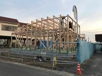 上棟しました。(公舎棟) - 吉田建築計画事務所-プロジェクト-