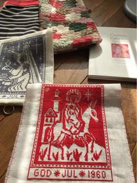 2018 Cristmas Calendar in Cross-Stitch マリアとイエス   完成  ④ - いとの色