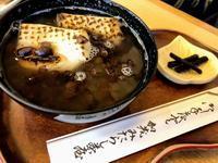 下鴨神社そば加茂みたらし茶屋のおぜんざい、美味しい - 設計事務所 arkilab