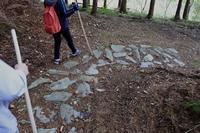 八幡浜街道笠置峠越の石畳 - ふらりぶらりの旅日記