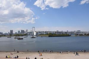 江戸湾を守った海上の砲台「品川台場」を歩く。 その1 - 坂の上のサインボード