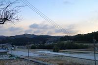 初積雪の朝 - ~葡萄と田舎時間~ 西田葡萄園のブログ