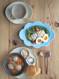 ミートボール朝ごはん - 陶器通販・益子焼 雑貨手作り陶器のサイトショップ 木のねのブログ