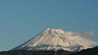 12月28日、我が家から見た富士山と骨粗鬆症対策です -   心満たされる生活