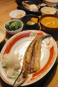 秋刀魚の干物 - 週末は晴れても、雨でも