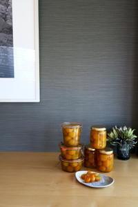 金柑甘露煮&セミドライ - KuriSalo 天然酵母ちいさなパン教室と日々の暮らしの事