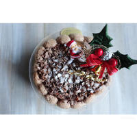 チョコとラズベリーのムースケーキ - cuisine18 晴れのち晴れ