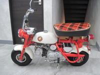 Z50Mがやってきました。 - バイクの横輪