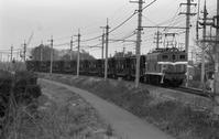 1988年12月武川にて石炭列車 - 急行越前の鉄の話