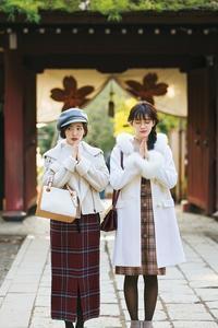 防寒もおしゃれも♪「初詣」コーデ例 - *Ray(レイ) 系ほなみのブログ*
