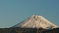 12月29日、我が家から見た富士山とお正月の準備はしない私です -   心満たされる生活