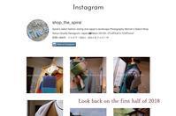 """Instagramで2018年を振り返る~上半期...12/29sat"" - SHOP ◆ The Spiralという館~カフェとインポート雑貨のある次世代型セレクトショップ~"