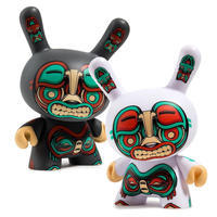 Kidrobot限定クーバ・5インチ・ホワイト・ダニー - 下呂温泉 留之助商店 店主のブログ