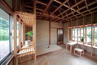 完成建築 38×38のフレーム - blog.塚本雅久建築設計事務所