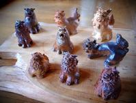 狛犬 - のぼり窯 窯元の日々