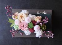2018.12.29 成人式のお花の髪飾り/和装/プリザーブドフラワー - Ro:zic die  floristin