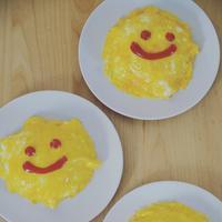 お昼ご飯〜スマイルオムライス〜 - 料理教室 あきさんち