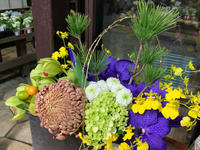 お正月アレンジ ♪♪ - ブレスガーデン Breath Garden 大阪・泉南のお花屋さんです。バルーンもはじめました。