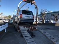栃木市からレッカー車で車検切れ故障車を廃車の引き取りしました。 - 廃車戦隊引き取りレンジャー