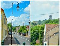〈9日目-3〉 モンレリーのドンジョンに登り、城跡を見下ろす(5/21-その3) - わたしの足跡 1.5 ~ときどきパリ