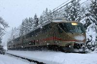 雪のなかを走るエクスプローラー - 今日も丹後鉄道