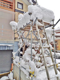 19年シーズン初の雪下ろし! - 浦佐地域づくり協議会のブログ