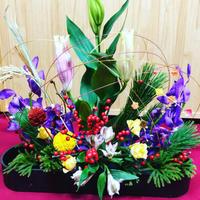 今年もありがとうございました - 好きな物に囲まれて* お花とお茶と楽しい時間 *