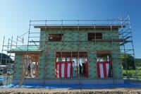 ゼロ・エネルギー住宅「FPの家」FP建て方⑤ - エコで快適な『FPの家』いかがですか!