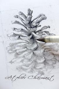形が取れたらたら(デッサンその⑤) - Atelier Charmant のボタニカル・水彩画ライフ