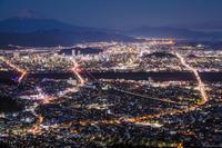 静岡市の夜景 - はじまりのとき
