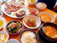 ポリグルビ定食『摩利山山菜』@坡州 - 今日はこんなことしました@韓国