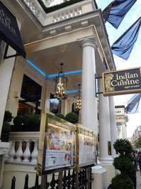 ロンドン最後の夜は、やっぱりインド料理・Light of India@ロンドン・グロースターロード - カステラさん
