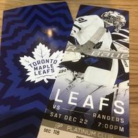 アイスホッケー観戦Go Leafs Go ! - CANADA DAYS 2nd