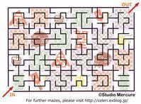 迷路-70/Maze-70/Labyrinthe-70 - セルリカフェ / Celeri Café