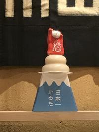 新年おめでとうございます。「高い処からのご挨拶で・・・」編 - 納屋Cafe 岡山