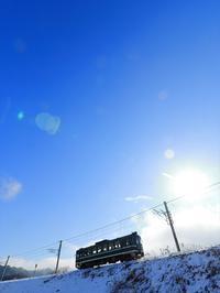 正月晴れ - 今日も丹後鉄道