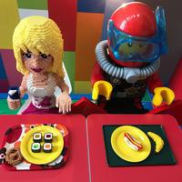LEGO LANDで 爆睡 (๑>◡ - mypotteaセンチメンタルな日々with photos 3