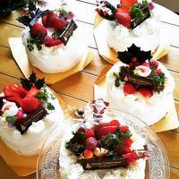12月20日(木)クリスマスケ―キとフルーツケーキ - シュプリームボヌールレッスン記