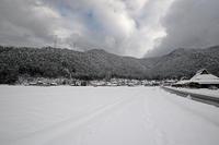 大晦日の雪景色@美山茅葺きの里其の一 - デジタルな鍛冶屋の写真歩記