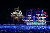 大阪城イルミナージュ(1)2018-12-24 - (新)トラちゃん&ちー・明日葉 観察日記