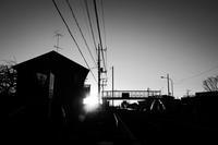 国道沿いの初日の出 - 節操のない写真館