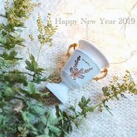 Happy new year☆ - nico☆nicoな暮らし~絵付けと花とおやつ